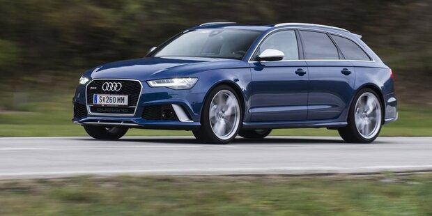 Audi RS6 Avant mit 605 PS im Test