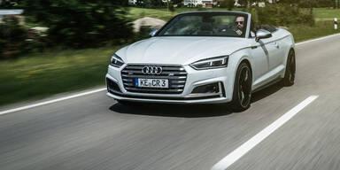Neues Audi A5 Cabrio mit satten 425 PS