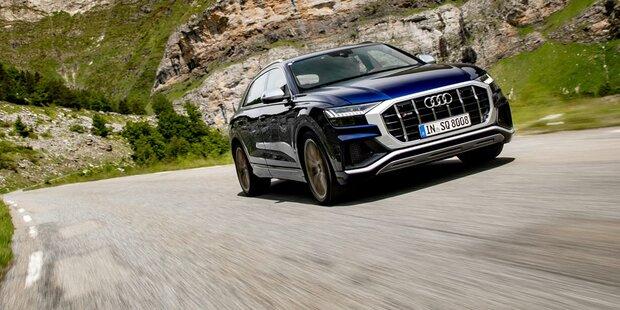 Audi greift mit dem neuen SQ8 an