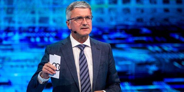 Beurlaubter Audi-Chef bleibt in Haft