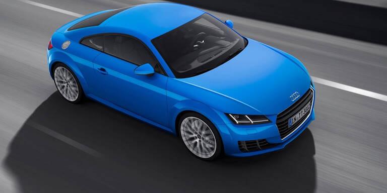 Audi bringt den TT TDI auch mit Allrad