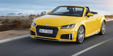 Dezentes Facelift für den Audi TT