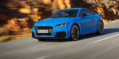 Audi frischt den TT RS auf