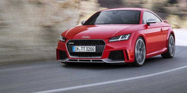 Audi bringt acht neue Hochleistungs-Autos