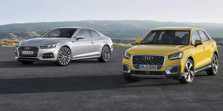 Audi Q2 und A5 Coupé ab sofort bestellbar