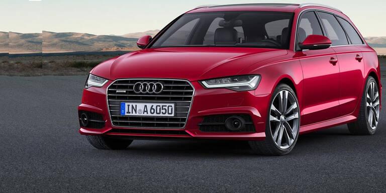 Mini-Facelift für Audi A6 und A7