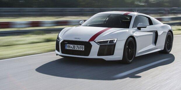 Audi bringt den R8 V10 mit Heckantrieb
