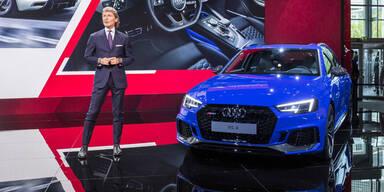 Audi greift mit dem neuen RS4 Avant an