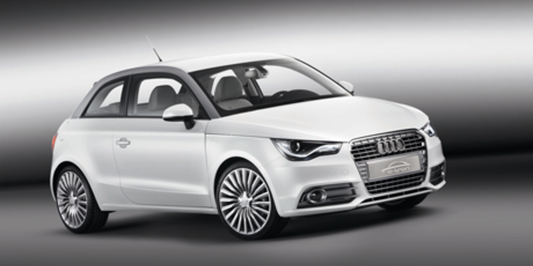 Audi A1- und A8-Hybrid in Genf