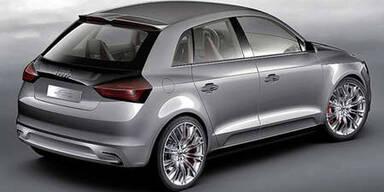 Audi A1 als Hybrid mit sportlicher Performance