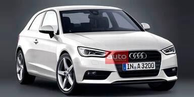 Foto vom neuen Audi A3 aufgetaucht