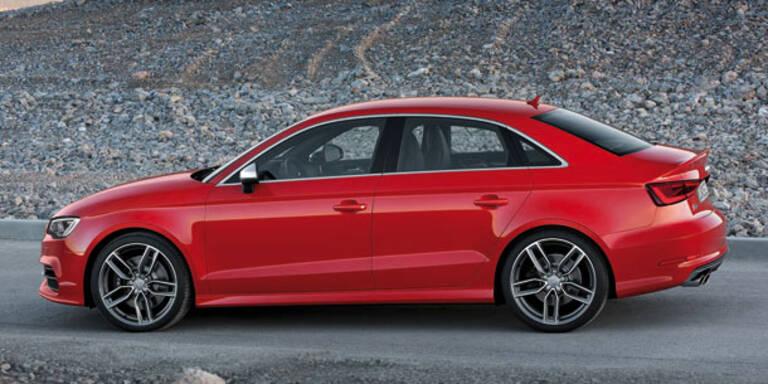 Audi stellt die A3 Limousine vor
