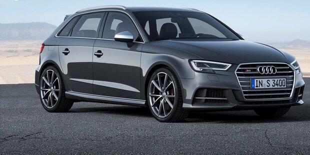 Audi verpasst A3 und S3 ein Facelift