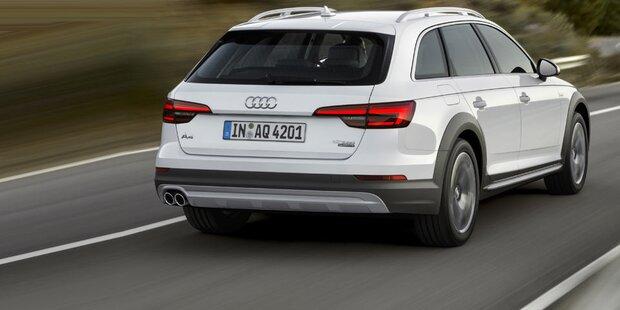 Neuer Audi A4 Allroad quattro startet