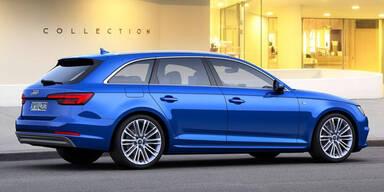 Neuer Audi A4 Avant mit Erdgas-Antrieb