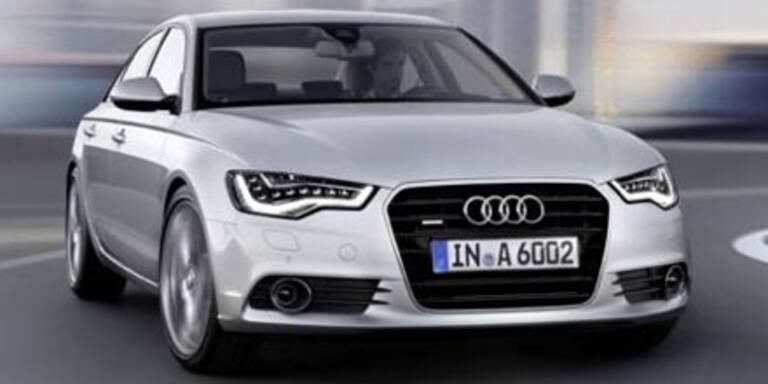Weltpremiere des neuen Audi A6 2011