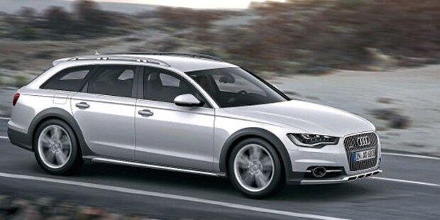 Weltpremiere des Audi A6 Allroad quattro