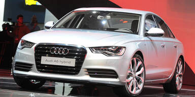 Weltpremiere des neuen Audi A6 Hybrid