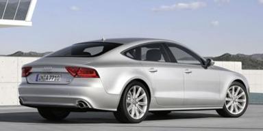Audi A7: Weltpremiere des viertürigen Luxus-Coupés