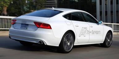 Audi A7 mit Wasserstoff-Antrieb