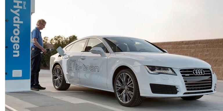 Audi setzt voll auf die Brennstoffzelle