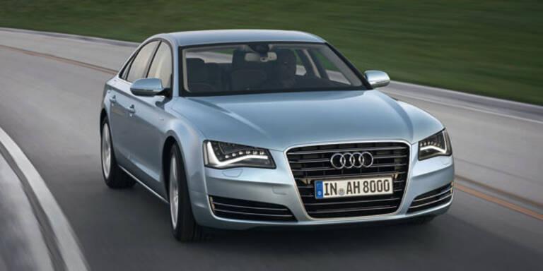 Jetzt kommt die Hybrid-Version des Audi A8