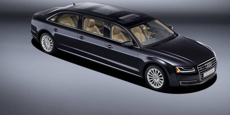 XXXL: Audi baut 6.36 Meter langen A8