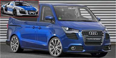 Luxus-Bulli und Polizei R8 von Cupa-Design