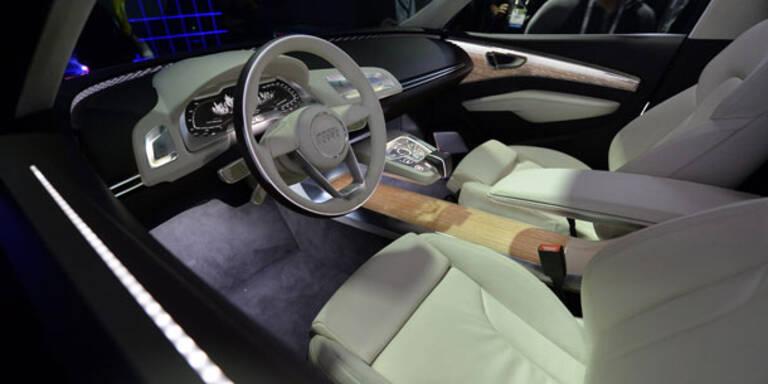 Audi baut Tablet-Displays ins Auto ein