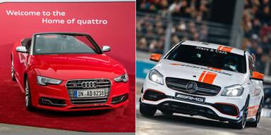 Mercedes und Audi erfolgreich wie nie