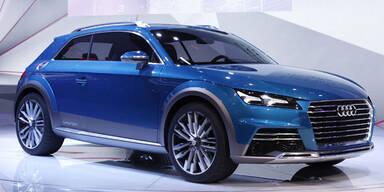 Audi-Studie zeigt Front des neuen TT