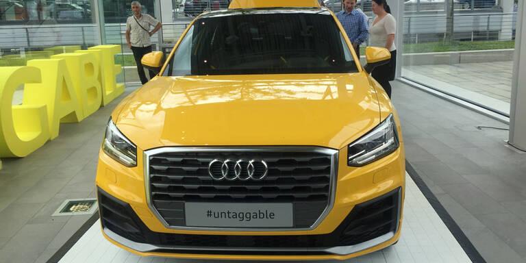 Wien wird Spielplatz für neuen Audi Q2