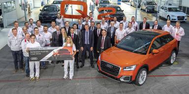 Audi Q2 läuft bereits vom Band