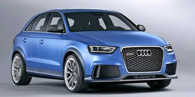 Weltpremiere des Audi RS Q3 concept
