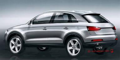 So sieht der neue Audi Q3 aus