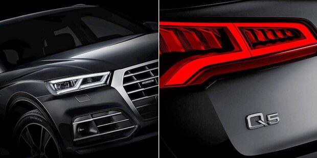 Erste Fotos vom neuen Audi Q5 (2017) on