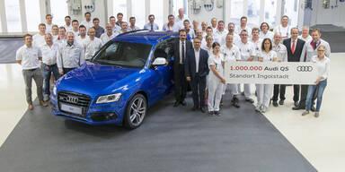 Einmillionster Audi Q5 aus Ingolstadt