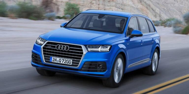 Neuer Audi Q7 braucht nur 1,7l/100 km