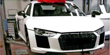Mega-Leak: Foto zeigt neuen Audi R8