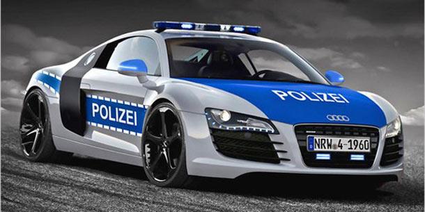 Audi Bulli Und Polizei R8 Von Cupa Design
