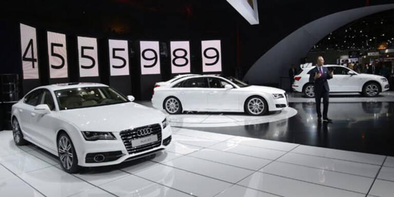 Audi sagt BMW und Daimler den Kampf an