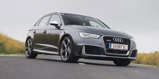Audi RS3 Sportback im Test