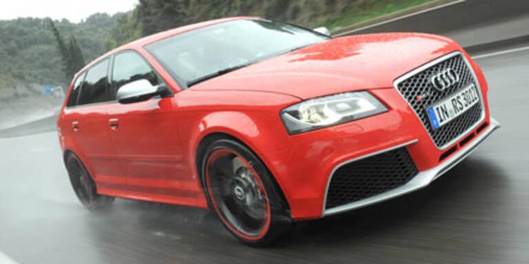 Audi RS3 Sportback landet in Österreich