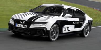 Audi zeigt schnellstes selbstfahrendes Auto