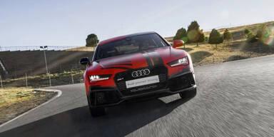 Fahrerloser Audi schneller als Rennfahrer
