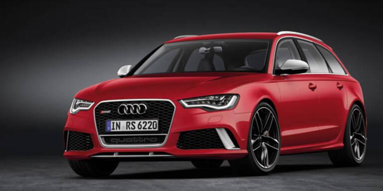 Audi stellt den neuen RS6 Avant vor