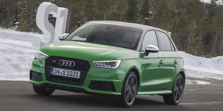 Der brandneue Audi S1 im Test