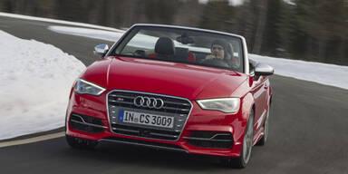 Neues Audi S3 Cabrio im Fahrbericht