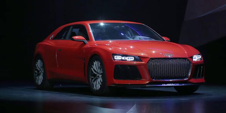 Audi zeigt Sport quattro mit Laser-Licht