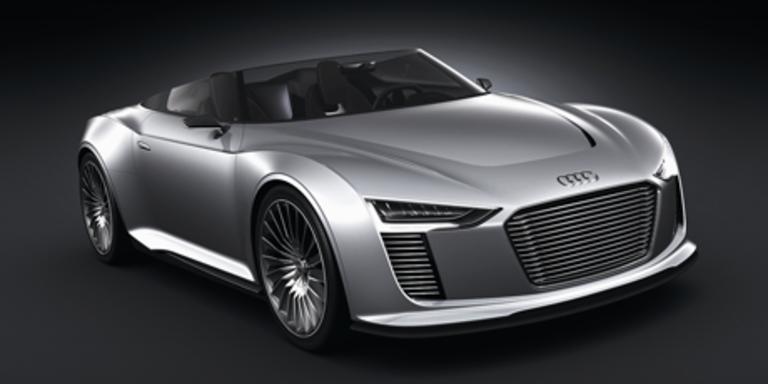 Audi e-tron Spyder und quattro concept in Paris